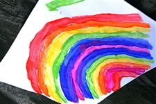 Chance Arts: rainbow art picture